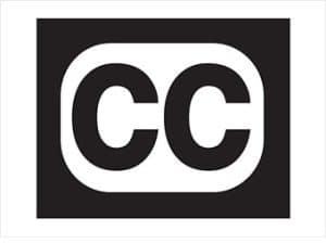 Symbol for closed captioning