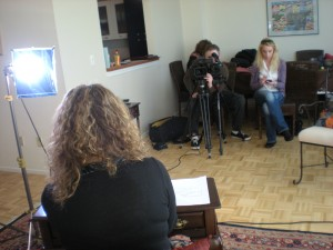 SVG Crew is filming Lecture Series on Location!