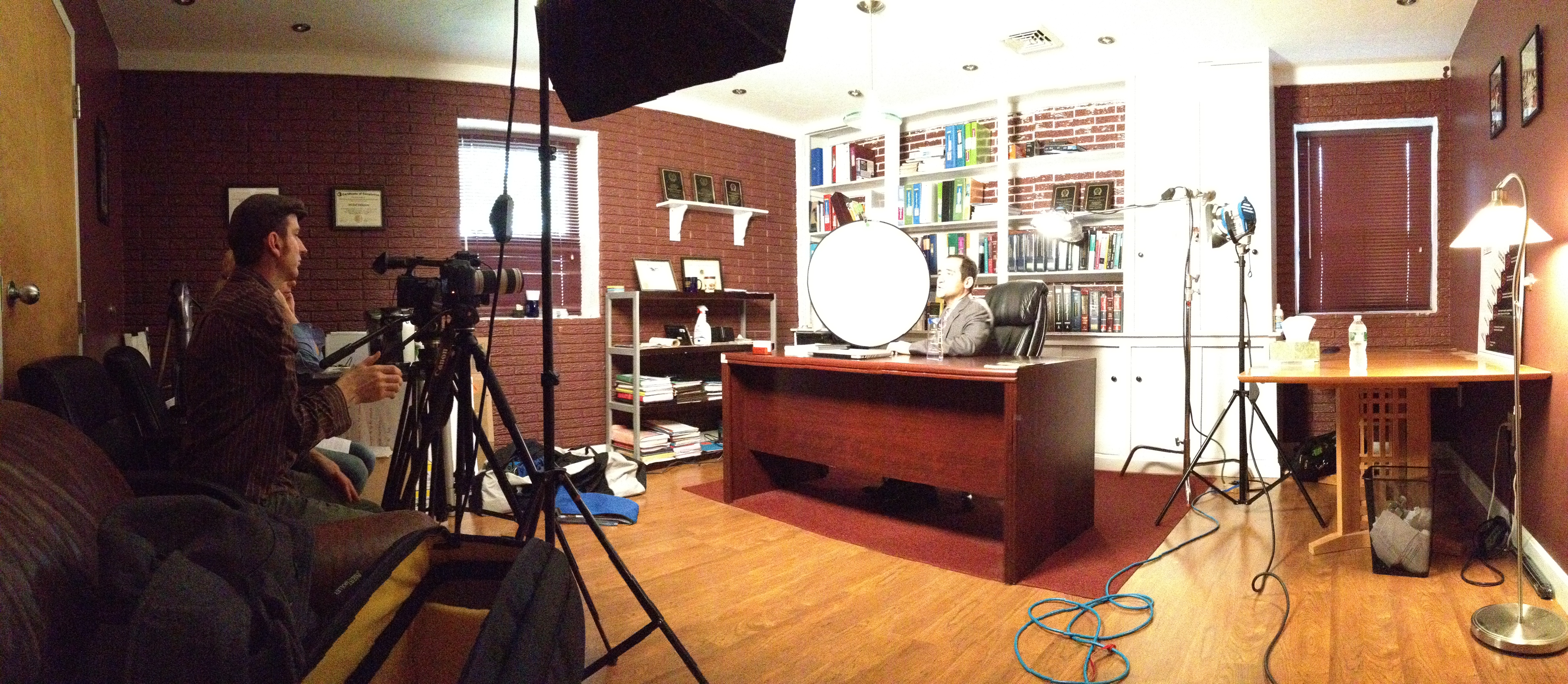 The Legal Marketing Shoot With Michael Delsignore!