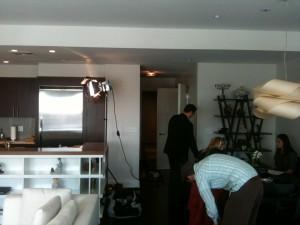 SVG Crew setting up