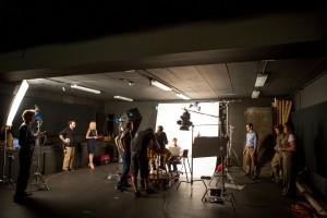 SVG crew in studio