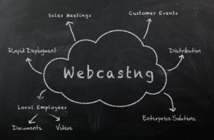 Web Casting Chalkboard