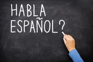 Picture of speaking spanish