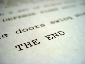 Screenplay The End