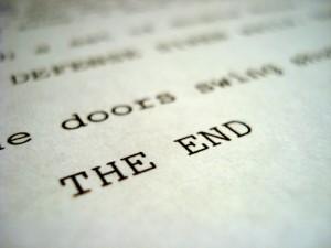 Screenplay The End