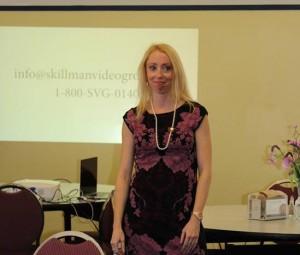 Christina Skillman speaks at ENC