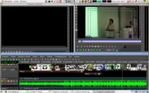 Editor's Computer Screen