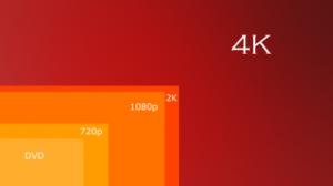 comparison of 4k video size