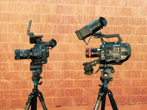FS7 and SLR