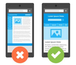 Mobile Site Formatting