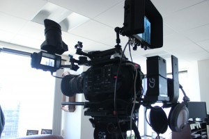 Boston corporate video crew equipment