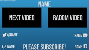 Youtube Card Template