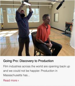 Screenshot of blogpost for final intern post